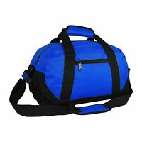 """Duffle Bag Two-Tone Sports Gym Travel Luggage Weekender Bags Multi-Color, 18"""""""