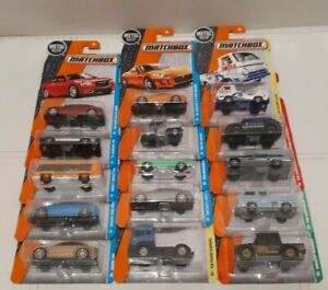 Matchbox Cars MBX 2016 Series 1-125 ** Pick Your Vehicle ** Die Cast - Sealed