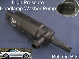 Headlamp/Headlight Washer Spray Cleaning Pump BMW Z3 1996 to 2002 Coupe Roadster
