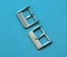 10 Pcs 20mm Solid Stainless Matte Watch band Buckle For Leather Watch Band