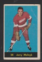1960-61 PARKHURST # 28  JERRY  MELNYK  VG  CONDITION  INV  9739