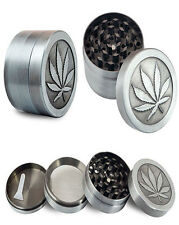 4 Layers Alloy Metal Crusher Hand Muller Leaf Smoke Herb Cigars Grinder
