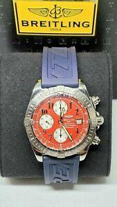 Breitling Chronomat Evolution 44 mm red dial