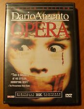 OPERA Dario Argento - Limited Edition (DVD + CD Soundtrack) ANCHOR BAY !! RARE !