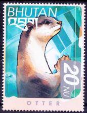 Otter, Wild Animals, Bhutan 1999 MNH - N47