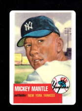 1953 TOPPS #82 MICKEY MANTLE CERAMIC HAMILTON COLLECTION LIMITED ED. D8459