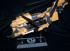 Acrylic display stand for GI Joe Tomahawk EagleHawk vintage 25th take off mode