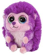 Hérisson Violet 13 cm Lil sucré & Sassy animaux en peluche avec grands yeux,