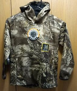 Youth's Realtree Max-1 XT, Tech Hoodie w/Gaiter Sizes: S, M, L, XL or 2XL NEW