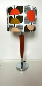 STUNNING ORLA KIELY FABRIC HANDMADE LAMPSHADE 30cm TABLE LAMP SHADE CEILING