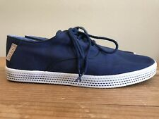 Ted Baker London Women's US Size 8 Tennis Shoes Navy Blue Lace Up Sneakers Tobii