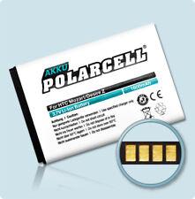 PolarCell Akku für HTC Desire S S510e Desire Z A7272 Incredible S S710e Batterie
