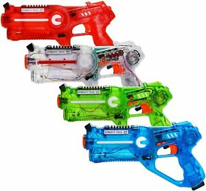 DYNASTY TOYS Laser Tag Shooting Game for Kids & Adults Multi Player Gun Set NEW