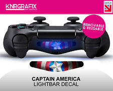 KNR2290 CAPTAIN AMERICA | Dualshock 4 PS4 Lightbar Light Bar Decal DS4