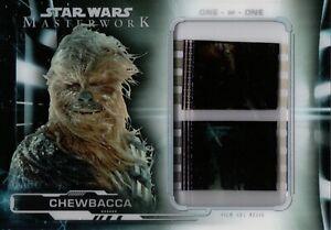 Star Wars Masterwork 2019, Chewbacca Film Cell Relic Card FC-C5 1/1
