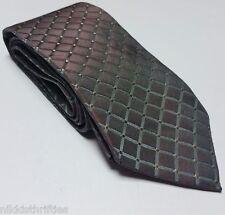 "Donna Karan Signature 100% Silk Neck Tie Gray 58"" Long 3 1/2"" Wide"