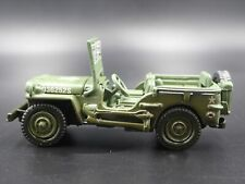 D-DAY WWII WILLYS MB JEEP ARMY MILITARY 1:64 SCALE DIORAMA DIECAST MODEL CAR