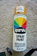 Sparvar vintage spray paint school bus yellow