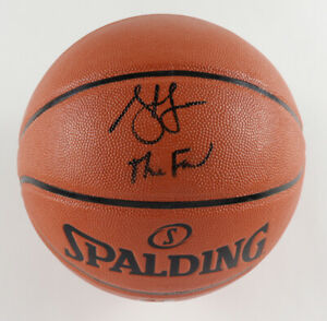 """Steve Francis Signed NBA Game Ball Series Basketball Inscribed """"The Franchise"""""""