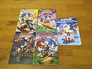 SONIC THE HEDGEHOG ARCHIVES VOLUMES 3,4,6,8,9