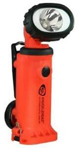 Streamlight 90744 Orange Knucklehead Spot Alkaline LED Rechargeable Flashlight