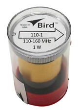 Bird 110-1 Thruline Model 43 Wattmeter Element Slug 1W 110-160 Mhz