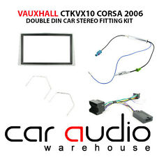 Vauxhall Corsa 2006 On Car Stereo D/Din Fascia Steering Wheel Interface CTKVX10