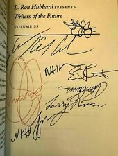 L.Ron Hubbard ~ Writers of the Future SIGNED by 15 Authors+ED.+15 Illustrators