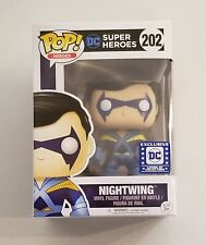 Funko Pop! DC Nightwing #202 Legion of Collectors Exclusive Teen Titans w/ Case