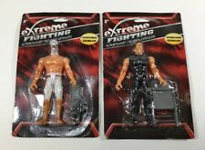 NEW EXTREME FIGHTING ACTION PLAYSET FIGURINES LOT OF 2 FREE SHIPPING
