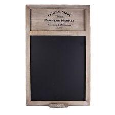 Shabby Vintage Chic Farmers Market Blackboard w/ Chalk Memo Notice Board Note