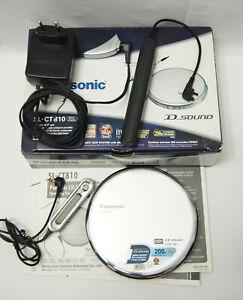 Panasonic SL-CT810 Portable CD Player Slim Metal Cover Remote