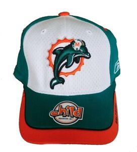 Miami Dolphins Reebox NFL Fitted Child Hat