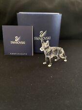 Swarovski crystal figurines Medium Sized Dog Brand New