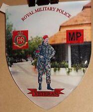 ROYAL MILITARY POLICE DOMED SHIELD VINYL STICKER..