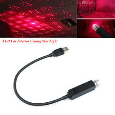 1PC 5V USB Gadget Red LED Car Room Ceiling Star Light Decoration Lazer Projector