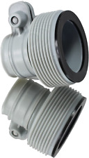 "INTEX 1.25"" to 1.5"" Type B Hose Adapters for Pumps  Saltwater System 