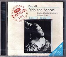 Purcell: Dido and Aeneas Janet Baker raimund Herincx Clark Anthony Lewis CD NEUF