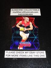 2009 AFL CHAMPIONS DIE CUT CARD NO.117 NATHAN JONES MELBOURNE DEMONS