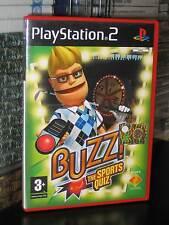 BUZZ THE SPORTS QUIZ SOLO GIOCO USATO OTTIMO STATO PS2 ITA 29240 SENZA BUZZ