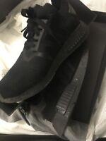 Adidas NMD_R1 PK Primeknit Japan Triple Black BZ0220 Size UK 8