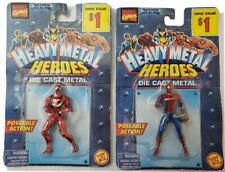 Two Die Cast Heavy Metal Heroes - BRAND NEW IN PACKAGE - Marvel Comics