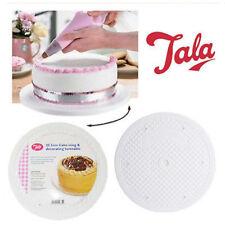 """Tala Cake 10"""" Rotating Base Turntable Plateau Round Decorating Sugarcraft Icing"""