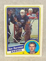 1984-85 O-Pee-Chee Tom Barrasso Rookie Card #18 OPC RC Hockey Card