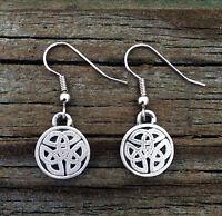 Celtic Knot Earrings | Celtic Jewelry in Fine Pewter | Surgical Steel Ear Wires