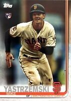 2019 TOPPS UPDATE - MIKE YASTRZEMSKI RC (#US245)