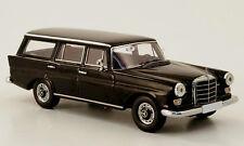 wonderful resin-modelcar Mercedes-Benz 230 UNIVERSAL (W110) 1964 - black - 1/43