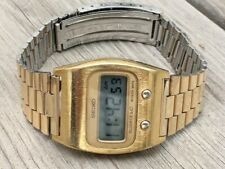 "NEW PRICE!!!! ■ SEIKO 0439-5009 Gold ""Bee Gee"" ■  1976 ■ rare frontpusher"