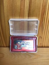 Pokemon Ruby - Comes in Protective Case! (Nintendo Game Boy Advance, 2002)