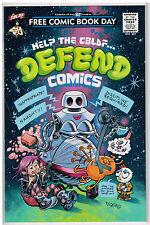 Help The CBLFD Defend Comics FCBD 2016
